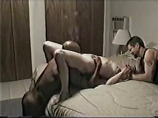 Black man fucks his wife, cuckold