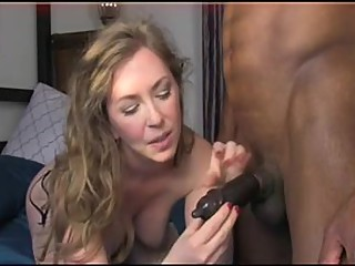 Beautiful Wife with Black Lover.