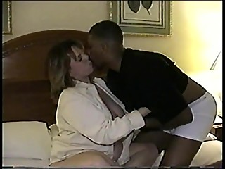 Interracial creampie