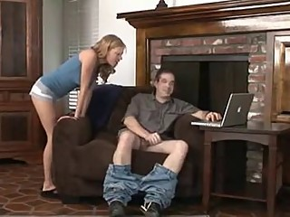 Loser Cuck Husband Sucks Dick And Eats Cum