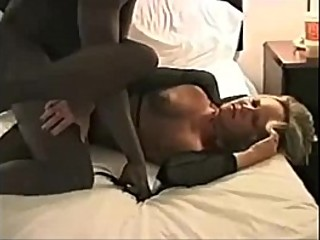 Wife fucked by 2 black dudes